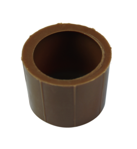Rund Schalen 29x21 mm Milch Ambra