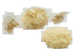 Rocher-Praliné-Eier, Weiss