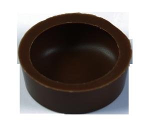 Rund Schalen 29x10 mm Dunkel Felcor
