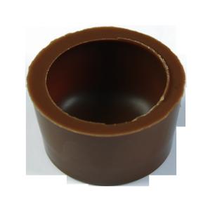 Rund Schalen 29x16 mm Milch Ambra
