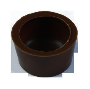 Rund Schalen 29x16 mm Dunkel Felcor