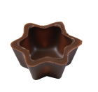 Stern Schalen 35x15 mm  Milch Ambra