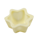 Stern Schalen 35x15 mm Edelweiss