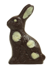 Sitzhase gemalt 40g Dunkel Felcor