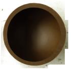 Halbkugeln 61 mm Dunkel Felcor